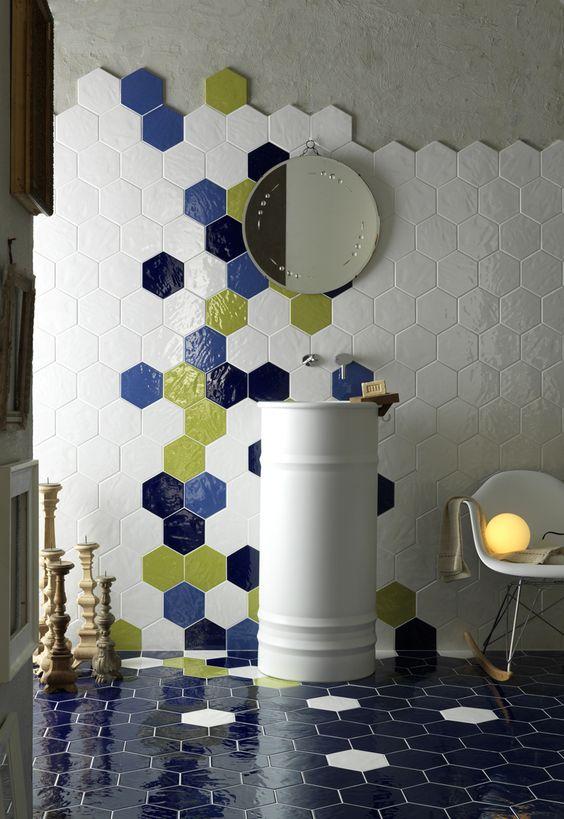 Piastrelle esagonali per una casa moderna  SPAZIO soluzioni