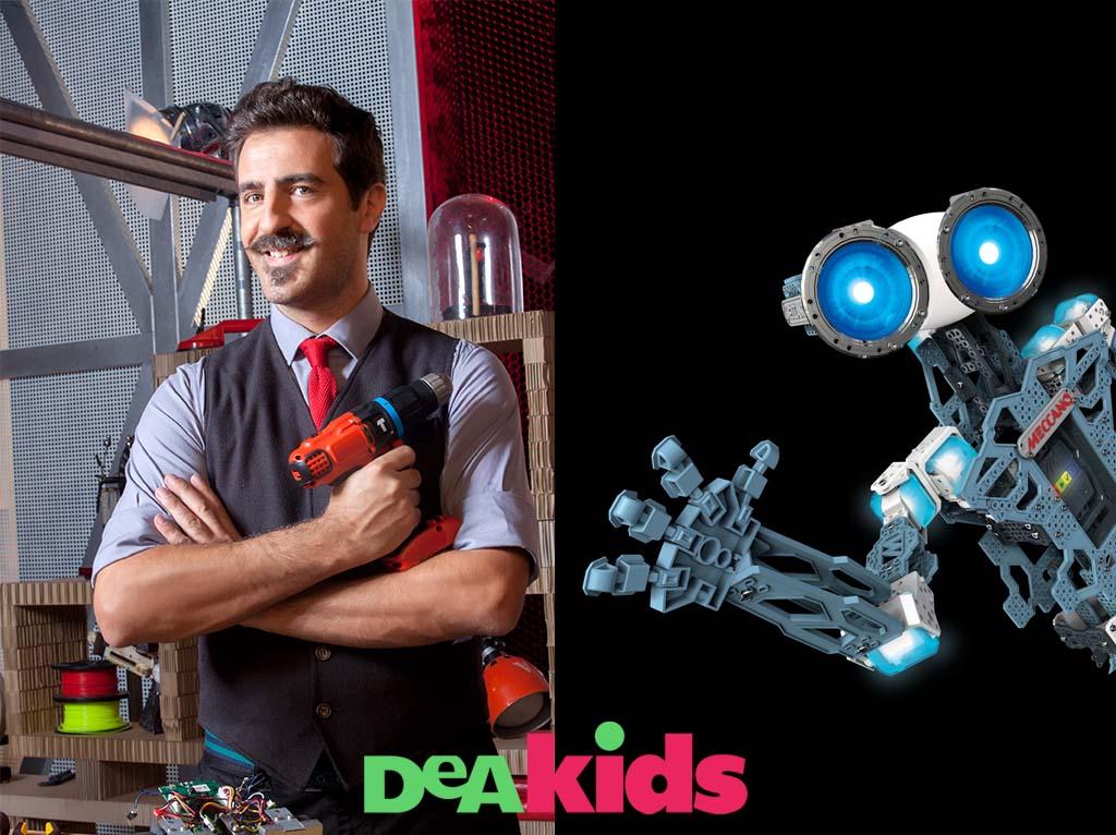 Vuoi costruire un vero robot?