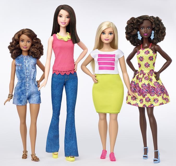 Barbie propone una nuova bellezza