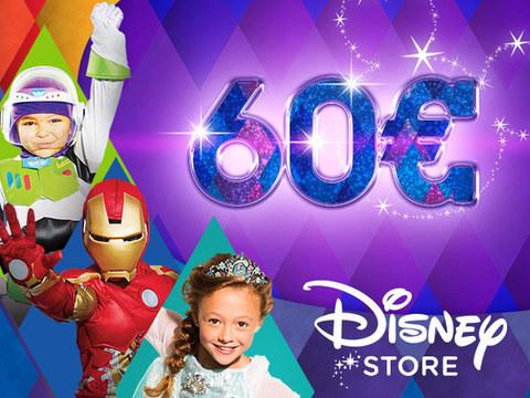 Vinci un buono da 60euro Disney