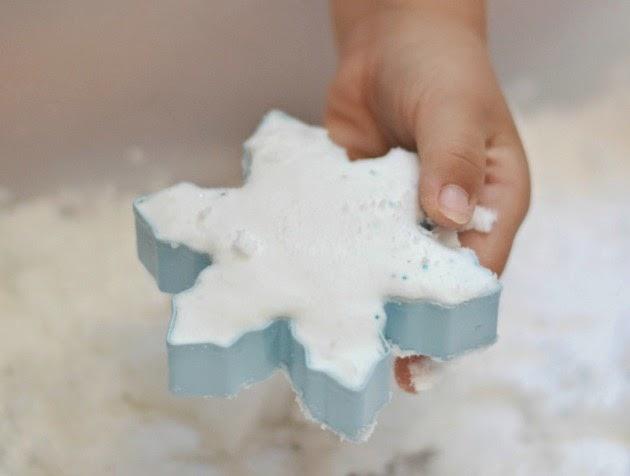 Ricetta per la neve di Frozen fai-da-te