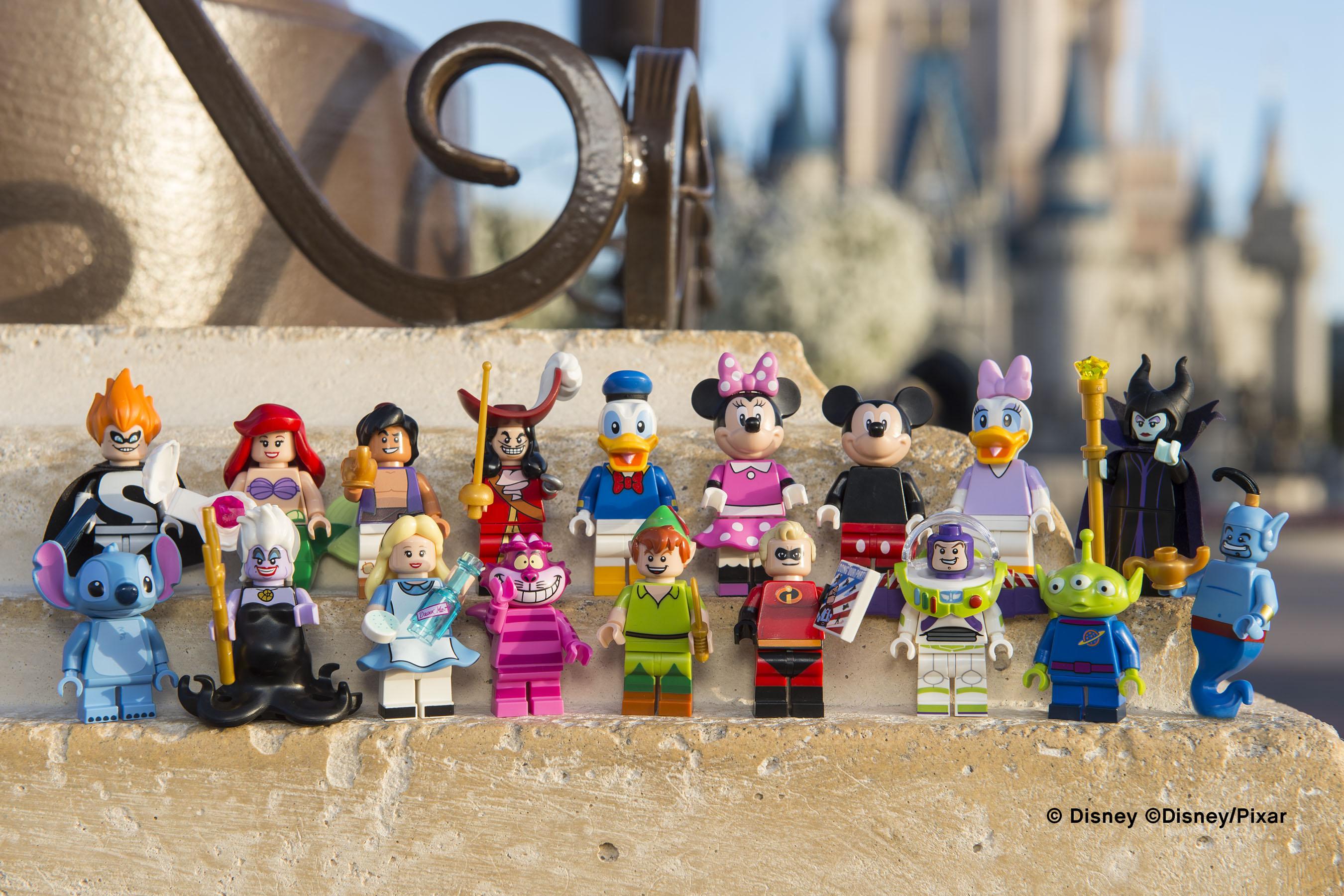 Sono arrivate le Minifigure Lego Disney!