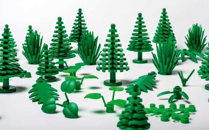 Lego passa al green: i primi mattoncini sostenibili nel 2018