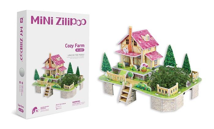 Botanic Puzzle 3D di Zilipoo: costruisci e coltiva