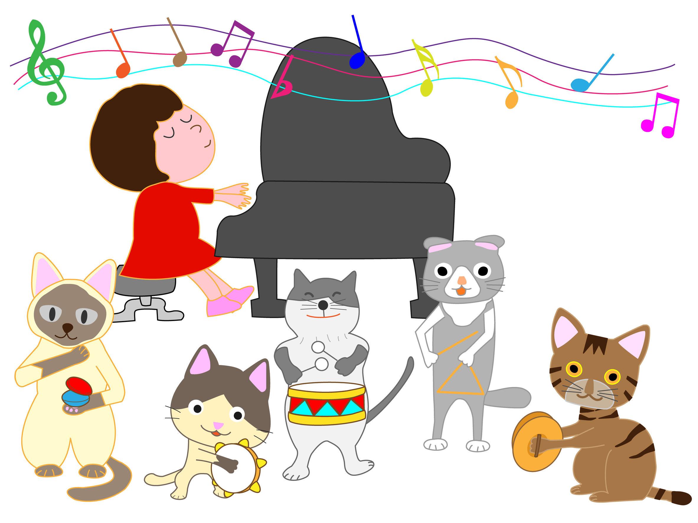 piano bladmuziek voor jonge kinderen