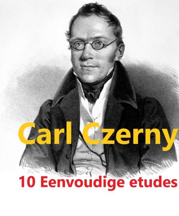 Carl Czerny - piano etudes voor beginners