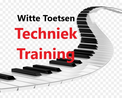 Piano-techniek-training music sheet PDF