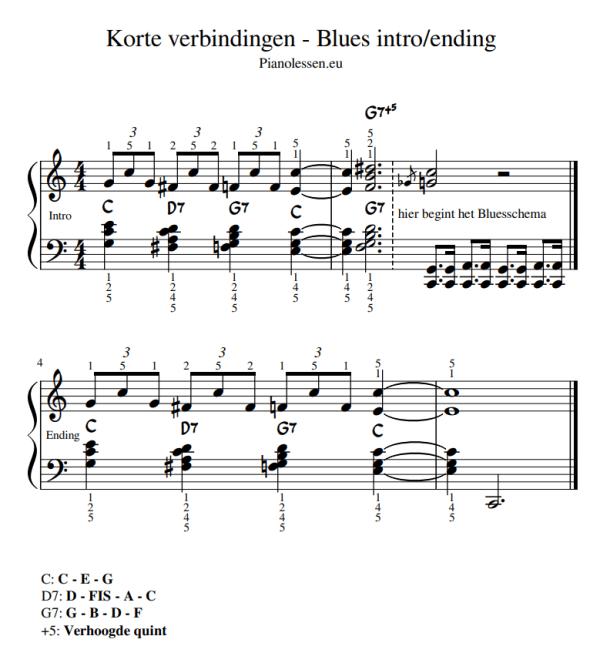 Blues intro - ending PDF