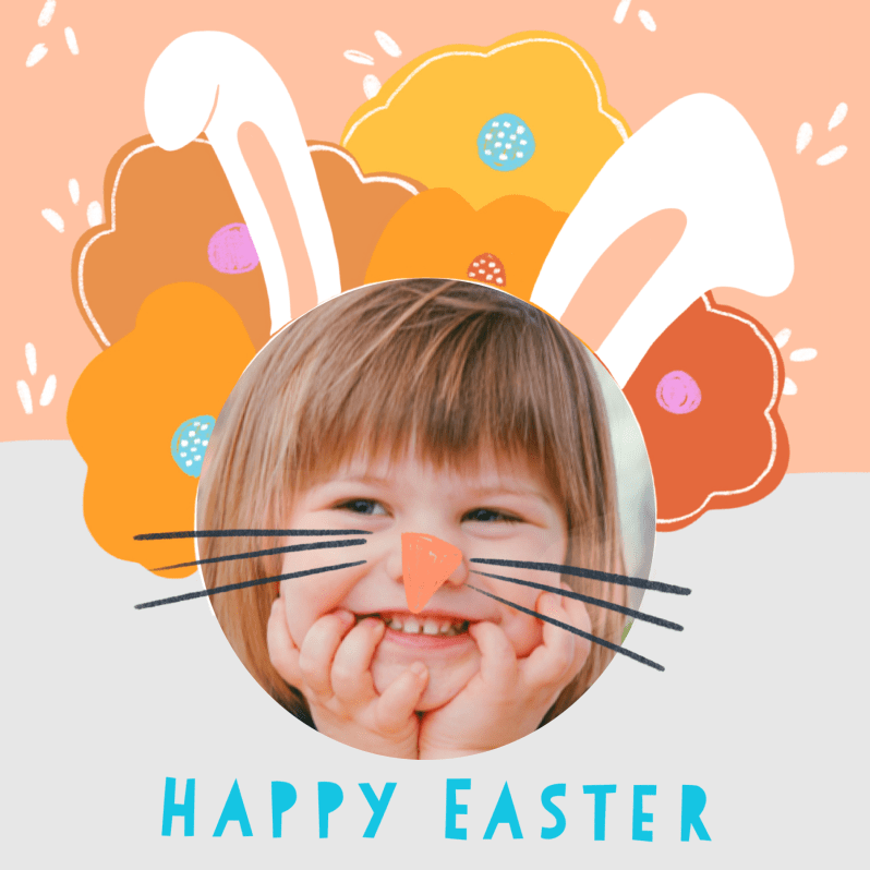 DIY Easter Card Bunny Ears