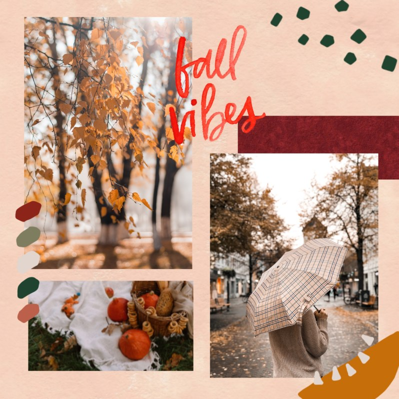 Fall Mood Board Inspiration
