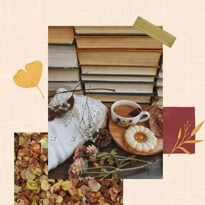 Fall Mood Board Inspiration - Autumn Journaling Stickers