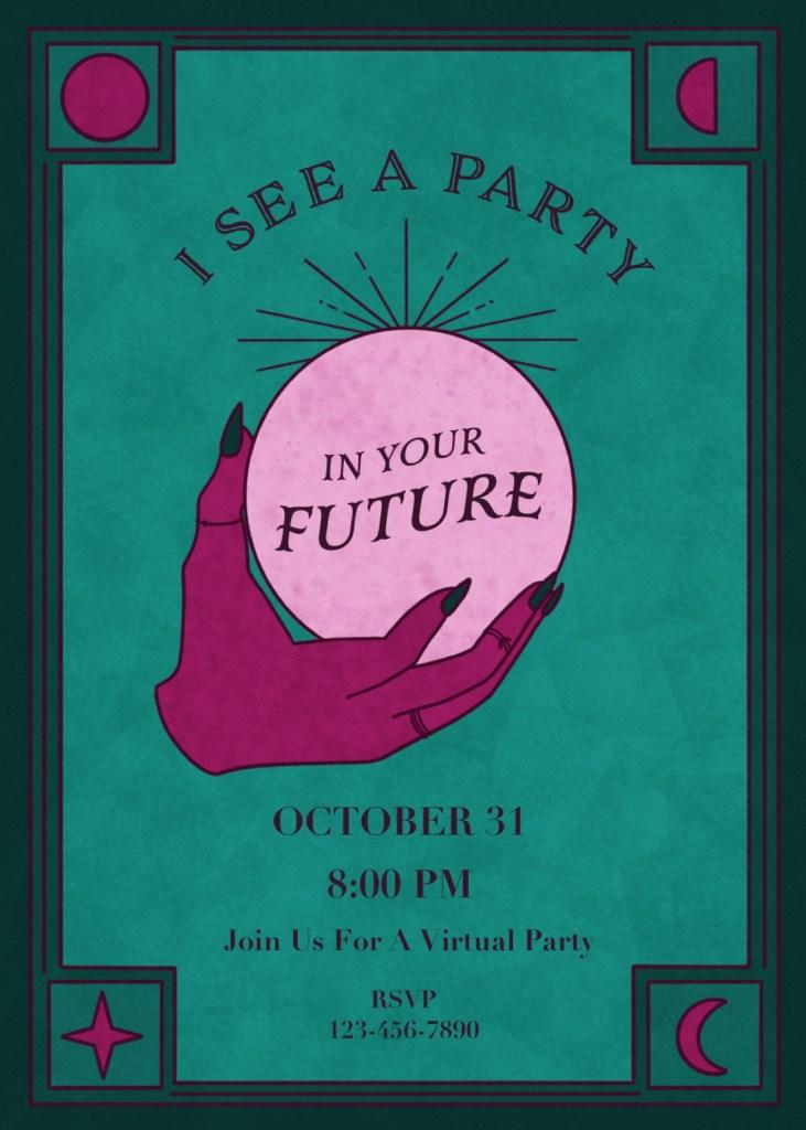 DIY Halloween Party Invitation