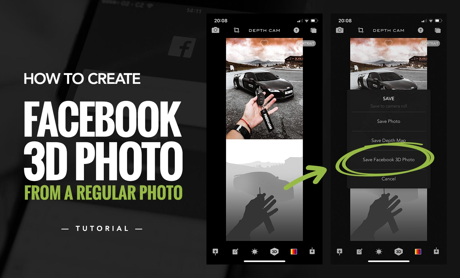 picjumbo BLOG: How To Create Facebook 3D Photo From a Regular Photo