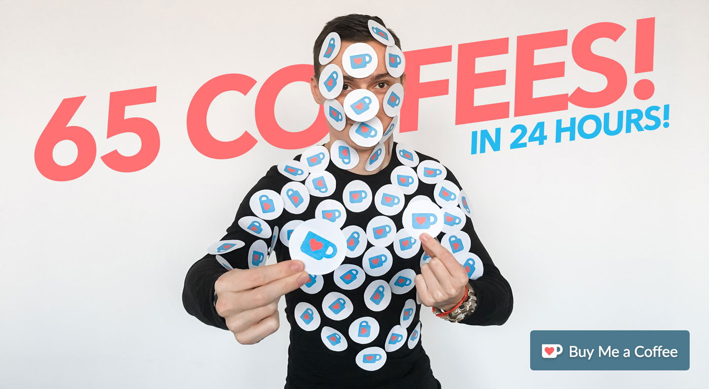 picjumbo BLOG: WOW! 65 coffees in 24 hours!
