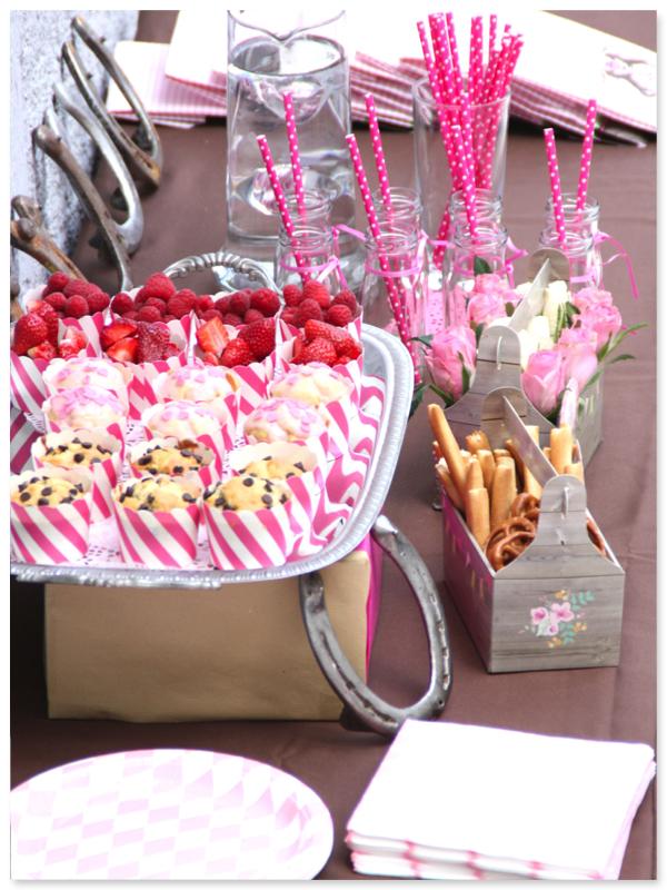 Pferdeparty Sweet Table