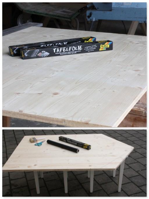 kreidetafel f r s kinderzimmer ein diy projekt. Black Bedroom Furniture Sets. Home Design Ideas