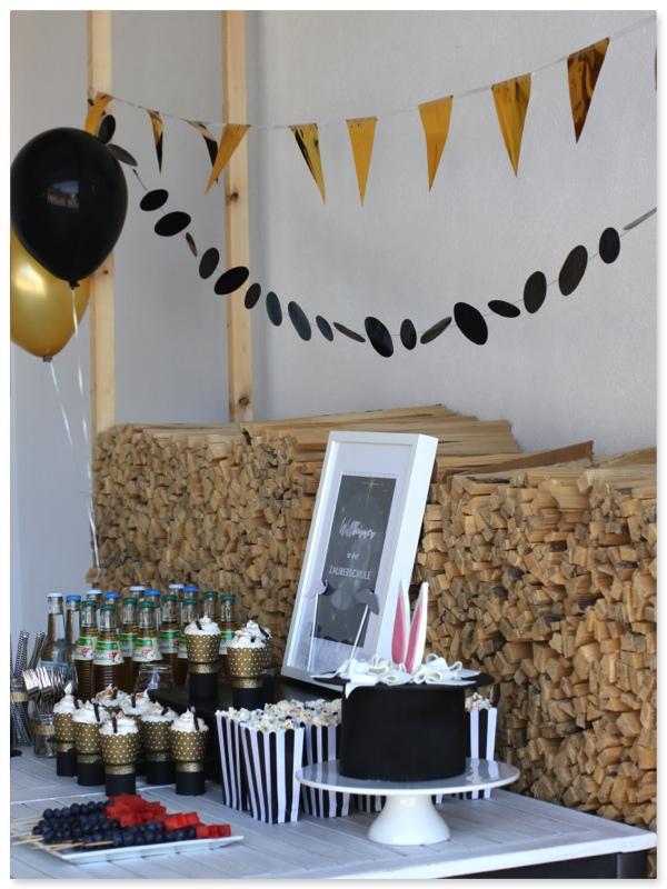 zauberer party im hause pickposh. Black Bedroom Furniture Sets. Home Design Ideas