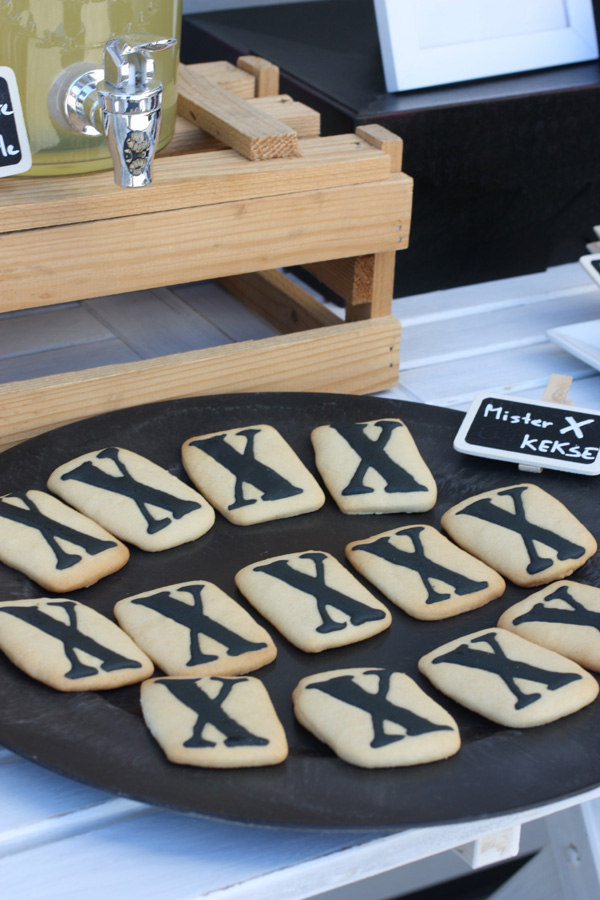 detektivparty kekse