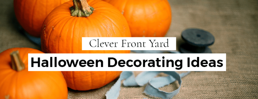 Clever Front Yard Halloween Decorating Ideas