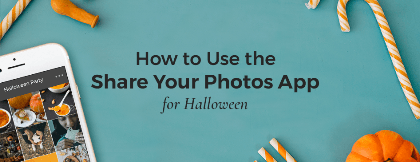 How to Use Share-Your-Photos App for Halloween