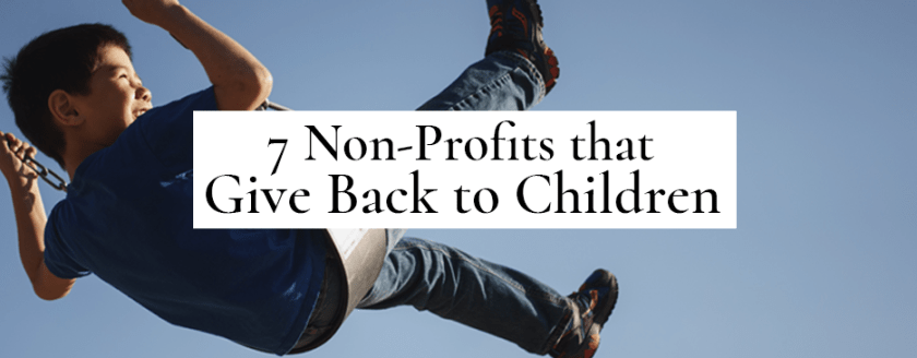 non-profits that give back to children