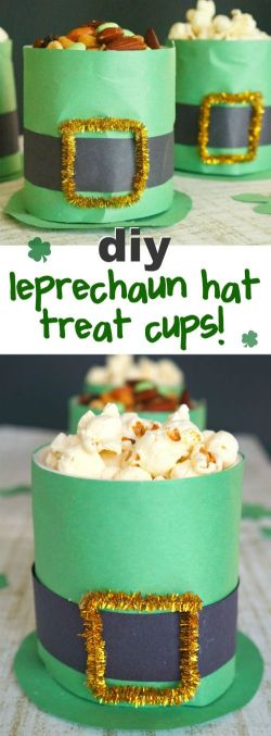 leprechaun snack hats