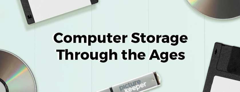 Computer Storage Through the Ages