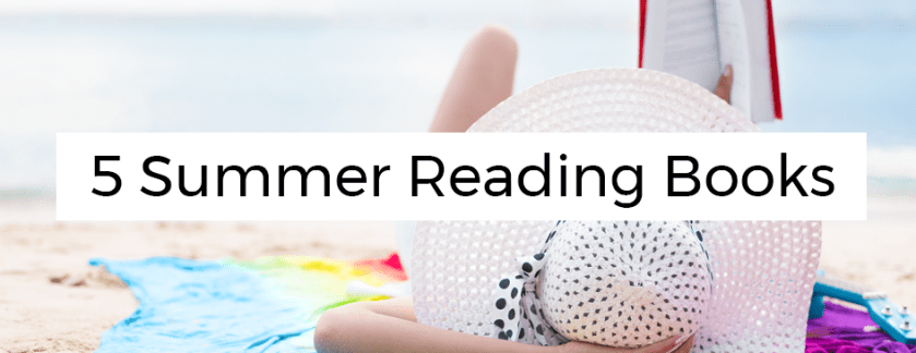 5 Summer Reading Books Blog Title