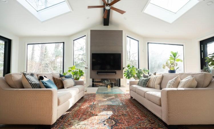 luxury home living room  interior example