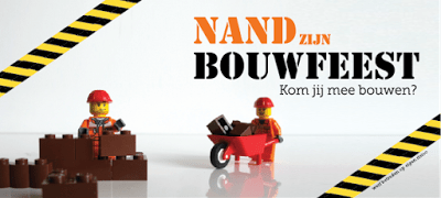 Bouwfeest Lego uitnodiging