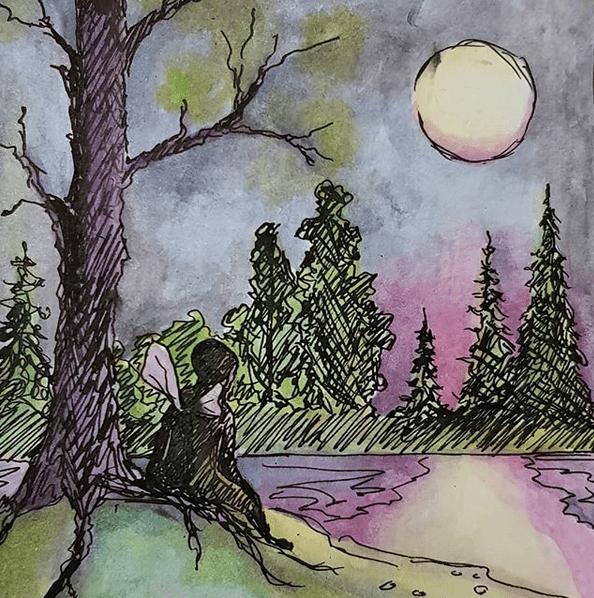 Kevätyö // Spring night, 2018