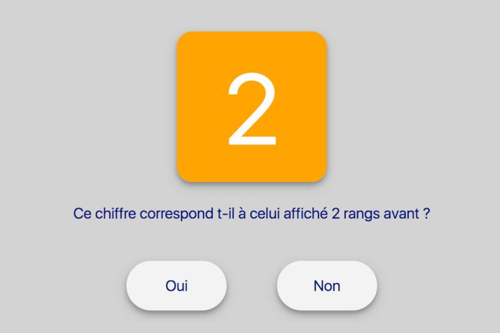Une astuce vous aidera à réussir ce test M2Back numériqe posé aux psy0 Air France