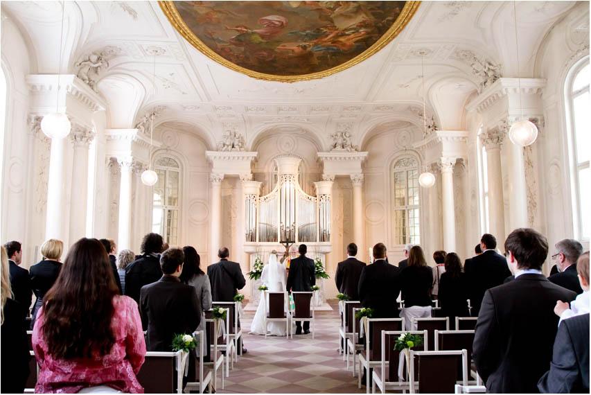 Heiraten auf Schloss Solitude  Hochzeitsfotograf