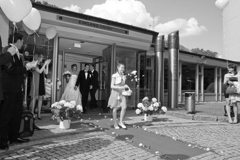 Hochzeit auf dem Fernsehturm  Hochzeitsfotograf Stuttgart
