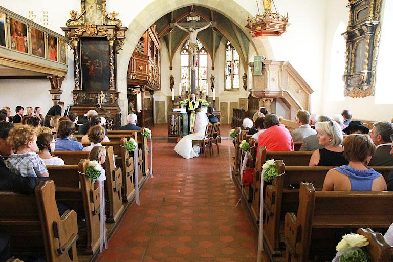 Hochzeit Schloss Langenburg  Die Trauung