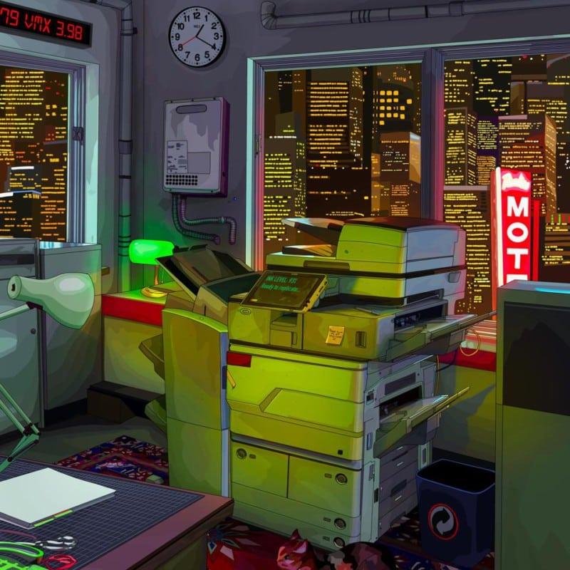 Gambar Replicator NFT Mad Dog Jones