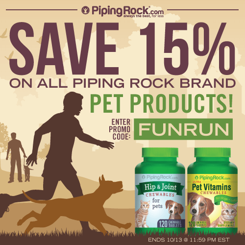 Piping Rock Sale Pet Products