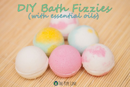 Piping Rock - The Pipe Line - DIY Bath Fizzies with Essential Oils
