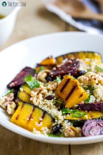 Piping Rock - The Pipe Line - Health Recipe - Quinoa with Roasted Veggies