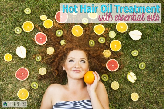 Piping Rock - The Pipe  Line - How To - Hot Hair Oil Treatment with Essential Oils