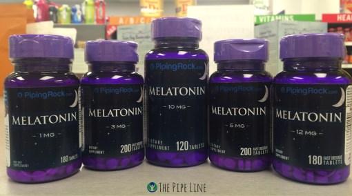 Piping Rock Melatonin Supplements