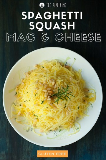 Piping Rock - The Pipe Line Blog - Healthy Recipe - Spaghetti Squash Mac & Cheese