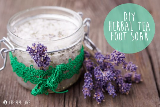 Piping Rock - The Pipe Line Blog - DIY Herbal Tea and Lavender Foot Soak