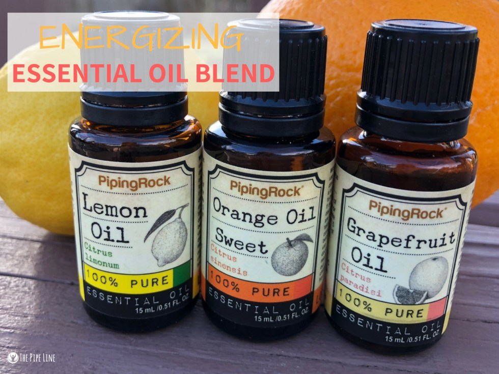 Energizing Essential Oil Blend
