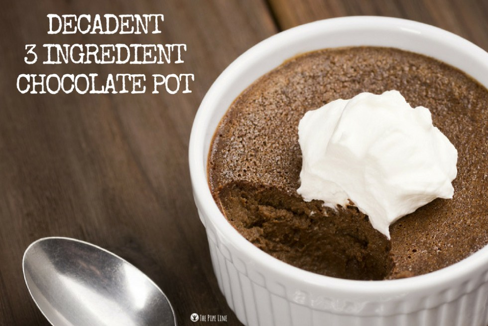 3 Ingredient Chocolate Pot