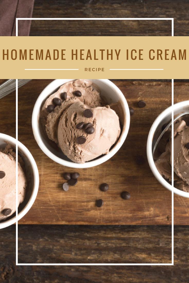 Healthy Ice Cream Recipe