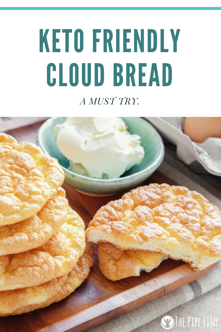 KETO FRIENDLY CLOUD BREAD (