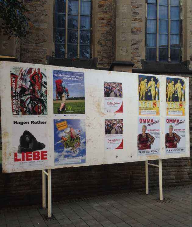 Wahlplakatwand_PeterundPaul