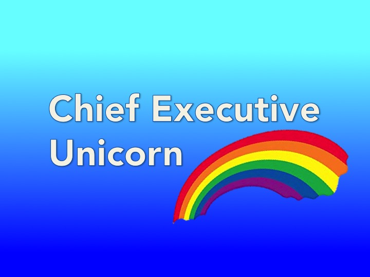 Chief executive unicorn job title