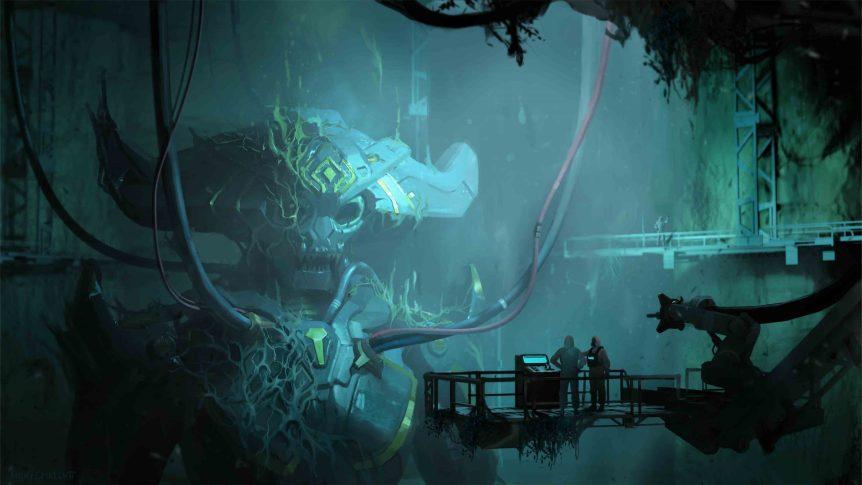 Final Alien Tomb by Kenny Callicutt